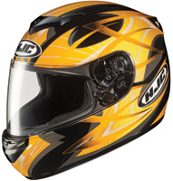 HJC CS-R2 Yellow Storm Full Face Helmet