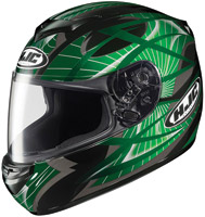 HJC CS-R2 Green Storm Full Face Helmet