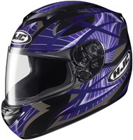 HJC CS-R2 Purple Storm Full Face Helmet