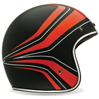 Bell Panel Orange Custom 500 3/4 Helmet