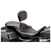 Le Pera Maverick Stitch 2-Up Seat with Driver Backrest
