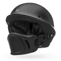 Bell Rogue Matte Black Half Helmet