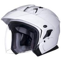Bell Mag-9 Pearl White 3/4 Open Face Helmet