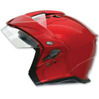 Bell Mag-9 Sena Candy Red 3/4 Open Face Helmet