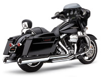 Cobra PowrFlo 4-1/2″ Slip-On Mufflers with Chrome Tip