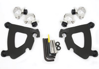 Memphis Shades Gauntlet Fairing Black Trigger-Lock Mount Kit