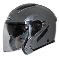 Zox Sierra SVS Titanium Open Face Helmet