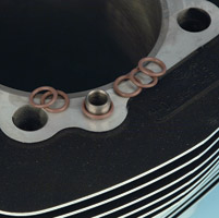 Genuine James Cylinder Head Locating O-Ring
