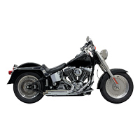 Bassani Pro-Street Chrome Exhaust System with Slash-cut Ends