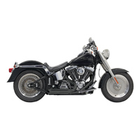 Bassani Pro-Street Exhaust with Turn-out Ends Black
