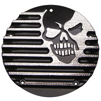Covingtons Customs Machine Head Black Diamond Edge Derby Cover