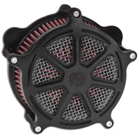 Roland Sands Design Morris Black Ops Venturi Air Cleaner