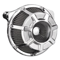 Arlen Ness Inverted Series Beveled Chrome Air Cleaner Kit