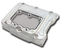 Roland Sands Design Chrome Rocker Box Clarity Cover