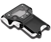 Roland Sands Design Contrast Cut Clarity Transmission Top Cover