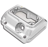 Roland Sands Design Chrome Clarity Transmission Top Cover