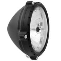 Roland Sands Design 5-3/4″ Tracker Black Ops Headlight