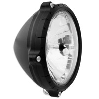 Roland Sands Design 5-3/4″ Chrono Black Ops Headlight