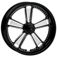 Roland Sands Design Judge Contrast Cut Front Wheel with ABS, 23