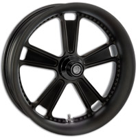Roland Sands Design Judge Black Ops Front Wheel with ABS, 23