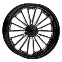 Roland Sands Design Domino Contrast Cut Front Wheel with ABS, 23