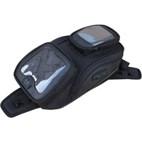 MotoCentric Mototrek Smart Space GPS Tank Bag with Strap Base