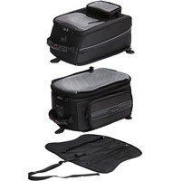 MotoCentric Mototrek Tower GPS Tank Bag with Strap Base