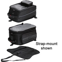 MotoCentric Mototrek Tower GPS Tank Bag with Magnetic Base