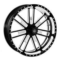 Roland Sands Design Slam Contrast Cut Rear Wheel with ABS, 18