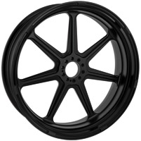 Roland Sands Design Morris Black Ops Front Wheel with ABS, 21