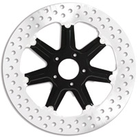 Roland Sands Design Morris Black Ops Two-Piece Front Brake Rotor, 13