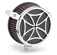 Cobra PowrFlo Air Cleaner Kit Chrome Cross