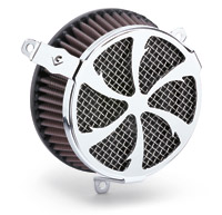 Cobra Swept Chrome Air Cleaner Kit