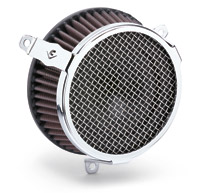 Cobra Plain Chrome Air Cleaner Kit