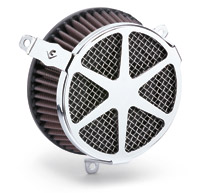 Cobra Spoke Chrome Air Cleaner Kit