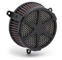 Cobra PowrFlo Air Cleaner Kit Black Spoke