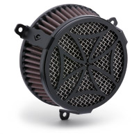 Cobra PowrFlo Air Cleaner Kit Black Cross