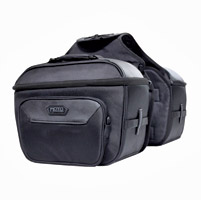 MotoCentric Square Cruiser Saddlebags