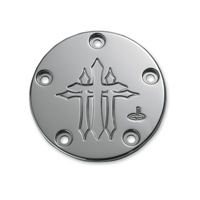 Carl Brouhard Designs Chrome Cross Series Points Cover