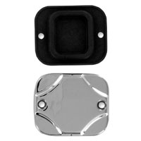 Drag Specialties Chrome Master Cylinder Cover