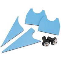 Kuryakyn Saddle Shield Air Deflectors - Replacement Mount Kit