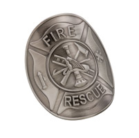 DC Medallions Fire Rescue Medallion