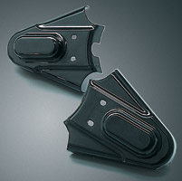 Kuryakyn Gloss Black Phantom Covers