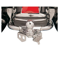 Khrome Werks Chrome Trailer Hitch Receptacle Kit