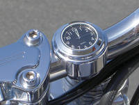 Riders Passion Chubby 1-1/4″ Bar Mount Clock