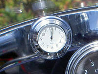 Riders Passion Windshield Mount White Clock
