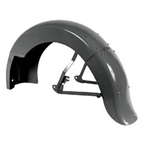 V-Twin Manufacturing Rear Fender for Big Twin with Stock Braces