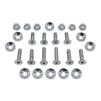Colony Chrome Fender Strut Bolt Kit