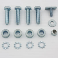 V-Twin Manufacturing Front Fender Trim Rail Mount Kit