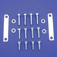 V-Twin Manufacturing Zinc Plated Front Fender Mount Kit